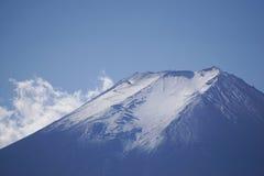 Bovenkant van Mt fuji Stock Foto