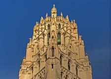Bovenkant van Rivieroeverkerk in de Stad van New York Royalty-vrije Stock Fotografie