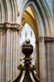 Bovenkant van Saksische Doopdoopvont in Puttenkathedraal Royalty-vrije Stock Foto's