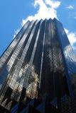 Bovenkant van Troeftoren - Wolkenkrabber in de Stad van New York Stock Fotografie