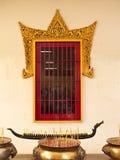 Bovenkant van witte stupa Stock Afbeeldingen