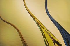 Drie golven Royalty-vrije Stock Fotografie