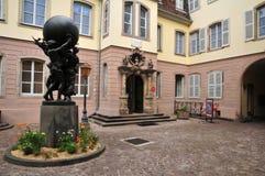 Bovenrijn, de schilderachtige stad van Colmar in de Elzas Royalty-vrije Stock Afbeeldingen