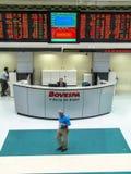 Bovespa. Sao Paulo, Brazil, August 19, 2004. Bovespa Stock Brokers Trading in Sao Paulo, Brazil stock photography