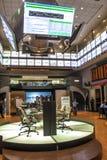 Bovespa. Sao Paulo, Brazil, August 10, 2010: Bovespa Stock Brokers Trading in Sao Paulo, Brazil royalty free stock photo