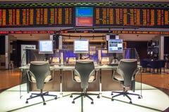Bovespa. Sao Paulo, Brazil, August 10, 2010: Bovespa Stock Brokers Trading in Sao Paulo, Brazil royalty free stock image