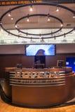 Bovespa. Sao Paulo, Brazil, August 10, 2010: Bovespa Stock Brokers Trading in Sao Paulo, Brazil royalty free stock images