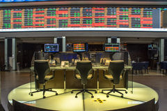 Bovespa. Sao Paulo, Brazil, March 14, 2016. Bovespa Stock Brokers Trading in Sao Paulo, Brazil stock photos