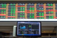 Bovespa. Sao Paulo, Brazil, March 14, 2016. Bovespa Stock Brokers Trading in Sao Paulo, Brazil royalty free stock photos