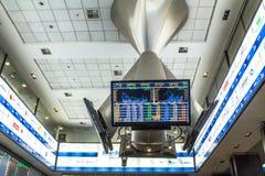 Bovespa. Sao Paulo, Brazil, March 14, 2016. Bovespa Stock Brokers Trading in Sao Paulo, Brazil stock photography