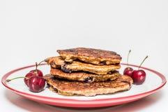 Bovete gjorde sunda pannkakor Arkivfoto