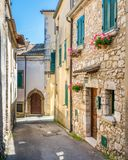 Boville Ernica in a sunny afternoon, province of Frosinone, Lazio, Italy. Boville Ernica is a town and comune in the province of Frosinone, Lazio, Italy. It is stock images