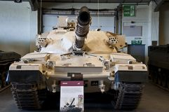 BOVINGTON, АНГЛИЯ -12 март 2013 - установленный в 1947, музей танка в Bovington, Дорсете, показывает собрание armored смоквы Стоковое Фото