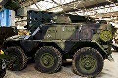 BOVINGTON, АНГЛИЯ -12 март 2013 - установленный в 1947, музей танка в Bovington, Дорсете, показывает собрание armored смоквы Стоковое фото RF