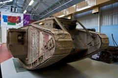 BOVINGTON, АНГЛИЯ -12 март 2013 - установленный в 1947, музей танка в Bovington, Дорсете, показывает собрание armored смоквы Стоковые Фото