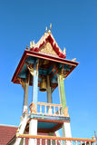 Bovornvong Bell Tower. In the Marble Temple Stock Photography
