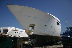 Bow. Yacht Royalty Free Stock Photo