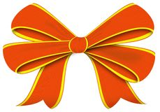 Bow. The image of a bow which tie up gifts Vector Illustration