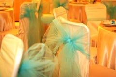 Bow. A wedding ballroom for weddings Royalty Free Stock Photos