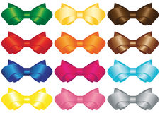 Vector Bow Stock Images