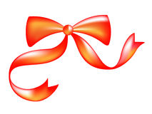 Bow. Computer generated illustration bow on isolated background Royalty Free Stock Image