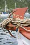 Bow. Of a fishing boat Stock Photography