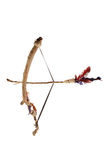 Bow and Arrow. On White Background Royalty Free Stock Images