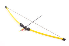 Bow and arrow Stock Images