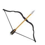 Bow and Arrow Graphic Royalty Free Stock Photos