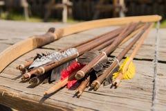 Bow arrows Royalty Free Stock Photos