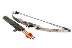 Bow and arrows Stock Images