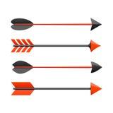 Bow arrows royalty free illustration