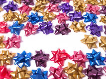 Bow Background Stock Image