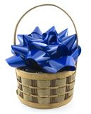 Bow in a Basket Royalty Free Stock Photography