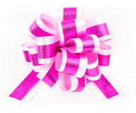 Bow. Beautiful decoration bow againt white background Royalty Free Stock Image