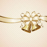 Bow and bells Royalty Free Stock Photo