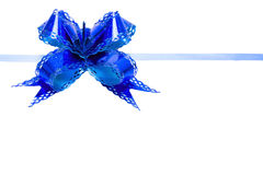 Bow blue Stock Photos
