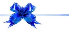 Bow blue Stock Photos