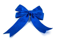 Bow is blue Stock Image