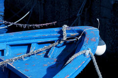 Bow of boat Stock Images