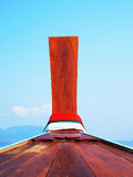 Bow of boat stock photography