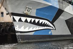 Bow of Boat Royalty Free Stock Photography