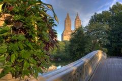 Bow bridge Stock Photography