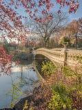 Bow bridge Central Park Royalty Free Stock Photo