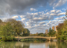 Bow bridge Royalty Free Stock Image