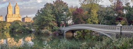 Bow bridge Royalty Free Stock Photos