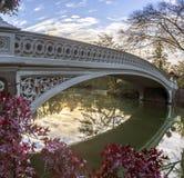 Bow bridge Royalty Free Stock Photography