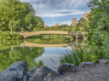 Bow bridge Royalty Free Stock Photography