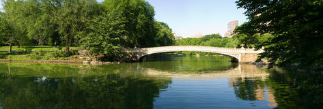 Bow Bridge at Central Park Royalty Free Stock Photos