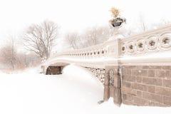 Bow Bridge in Central Park Stock Photos